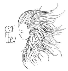 CRYF FEL LLEW / STRONG LIKE A LION